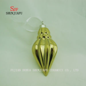 Electroplating Ceramic Origami Shape Hang on The Home/Office Decoration/C pictures & photos