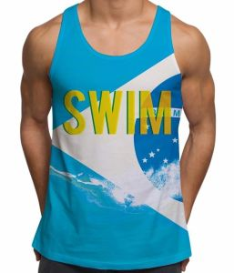 Custom 100%Polyester Crew Neck Tank Top/Singlet (A664) pictures & photos