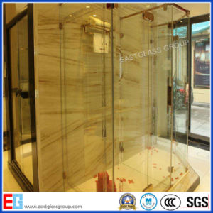 Frameless Safety Tempered Shower Door Glass for Bathroom pictures & photos