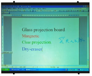 Dry Erase Magnetic Projector Screen pictures & photos