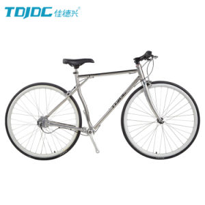2016 Newest Wholesale Raod Bicycle/ 700c Aluminum Alloy Inner 3-Speed City Race Road Bike/ Bike Factory pictures & photos