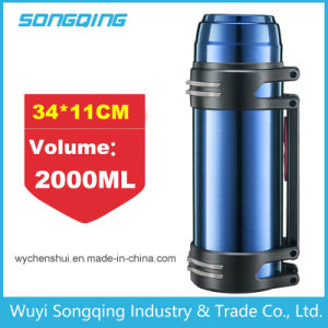 2017 New Design Thermos Travel Bottle Outdoor Bottle Travel Vacuum Flask with Wide Mouth pictures & photos