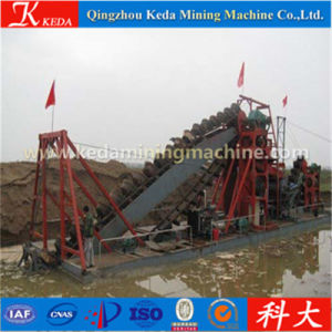 Sand Mining Chain Bucket Dredger pictures & photos