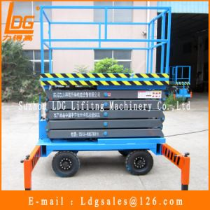 500kg 7.5m Hydraulic Scissor Lift Table (SJY0.5-7.5) pictures & photos