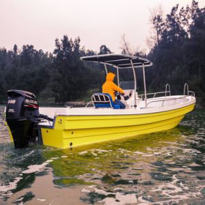 26 Foot Fiberglass Panga-Style Fishing Boat for Flying Fish pictures & photos
