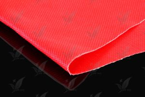 Red Colour Double Sides Silicon Coated Fiberglass Fabric pictures & photos