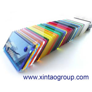 Xintao Factory Supply Many Colours 3mm Mirror Acrylic Sheet pictures & photos