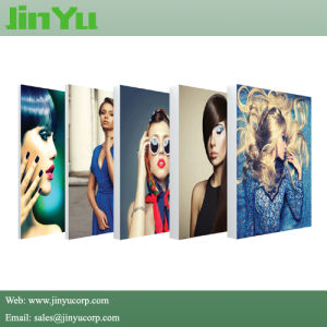 17mm Depth Frameless Fabric LED Slim Light Box pictures & photos
