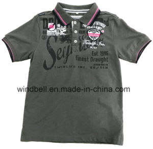 Color Melange Cotton Polo Shirt for Embroidery pictures & photos