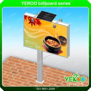 Outdoor LED Backlit Billboard Advertising Solar Steel Billboard pictures & photos