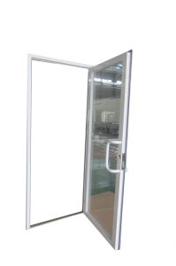 Aluminum Powder Coated Double Glazed Glass Door, French Doors pictures & photos