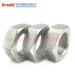 DIN431 Pipe Nuts Conduit Lock Nuts with Thread in Accordance pictures & photos