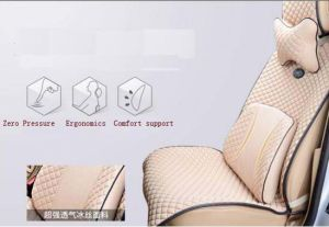 Car Back Support Pillow Lumbar Cushion Ice Silk pictures & photos