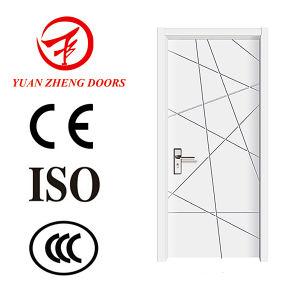 Room Entry PVC MDF Door Economic Wood Door pictures & photos