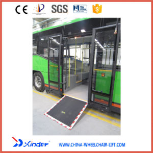 Loading Wheelchair Ramp Electric Wheelchair Ramp for Bus with Ce Certificate pictures & photos