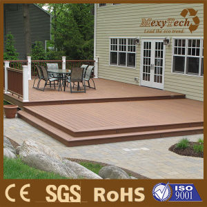 Crack-Resistant Outdoor WPC Co-Extrusion Decking Wood Plastic Composite pictures & photos