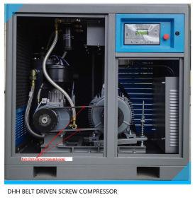 Industrial 220V 415V 380V Belt Driven Screw Air Compressor pictures & photos