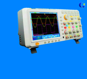 4 Channel 200MHz 1GS/s Deep Memory Digital Oscilloscope pictures & photos