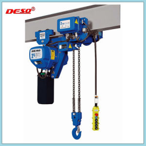Motor Driven Electric Chiain Hoist for Crane Lifting pictures & photos