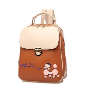 Factory Price Hot Sale Cartoon Leather Rucksack pictures & photos