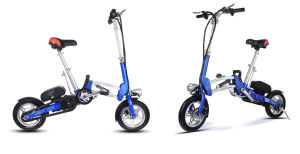 "12"" Foldable Electric Bike pictures & photos"
