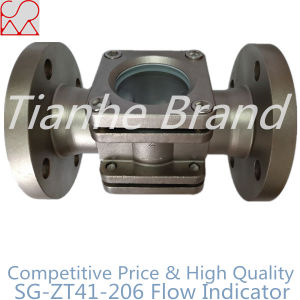 Pipe Fitting Double Window Stainless Steel Flanged Sight Glass for Water pictures & photos