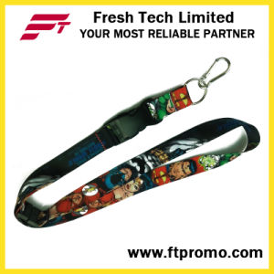 Customized Polyester Lanyard for Business Promotion pictures & photos
