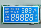 Dstn Segment Character Color LCD Screen White LED Backlight pictures & photos
