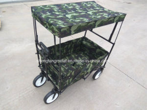 Multipurpose Folding Beach Wagon with Canopy pictures & photos