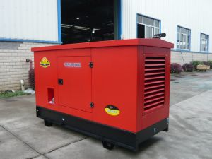 Soundproof Dieisel Electric Generator Set with Perkins Engine pictures & photos