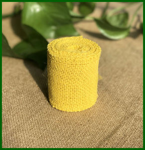 Colored Jute Burlap Cloth Roll pictures & photos