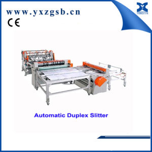 Automatic Food Tin Can Duplex Slitter Machine pictures & photos