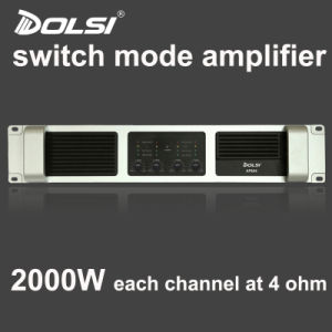 PRO Audio Install DJ Equipment Switch Mode Power Amplifier pictures & photos