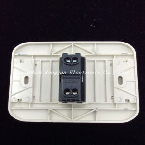 Two Falt Pins ABS Copper Material Wall Sockets (G816) pictures & photos