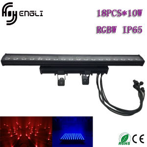 18PCS*10W RGBW Waterproof LED Wall Washer Light pictures & photos