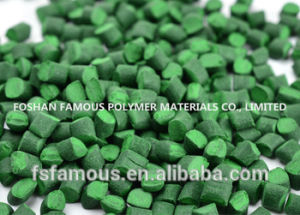 Environment-Friendly Green Pigment Masterbatch for PP or PE Injection pictures & photos