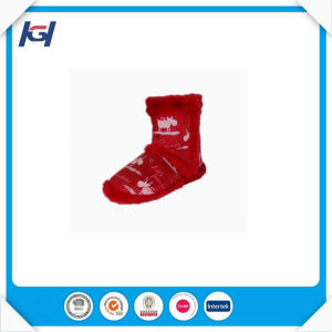Hot Selling Cheap Knitted Reindeer Warm Winter Boots Women pictures & photos