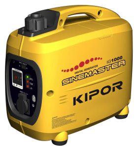 Kipor Inverter Digital Gasoline Generator Ig1000 1kw pictures & photos