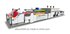 One Color Fabric Screen Printing Machine with Drying Parts for Non Woven Bag pictures & photos