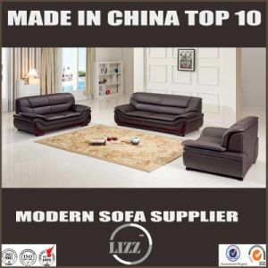 Modern Living Room 1+2+3 Leather Sofa pictures & photos