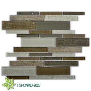 Strip Glass Mosaic/ Mosaic Tiles (TG-OWD-905) pictures & photos