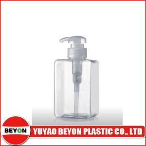 400ml Cosmetic Pet Plastic Square Lotion Pump Bottle (ZY01-C033) pictures & photos