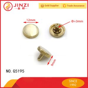 12mm Metal Flat Blind Rivet for Bags/Garments/Shoes pictures & photos