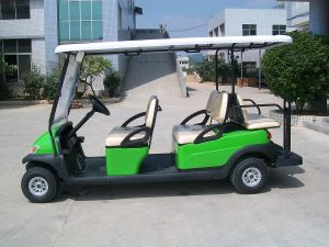 4 Wheels Electric Gof Car for Golf Course pictures & photos
