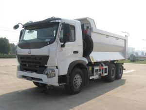 Luxury Heavy Duty Dump Truck with 420HP Engine pictures & photos