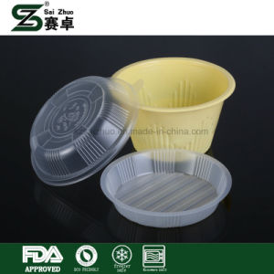 Disposable Thicken Round Lunch Box & Takeaway Soup Bowl with a Lid pictures & photos