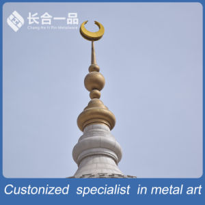 Factory Manufacture Copper Metal Top Rod of Mosque for Muslim pictures & photos