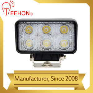 Best Price 18W Flood Spot Beam Work Lights for Truck pictures & photos