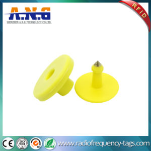 125kHz Em4305 RFID Passive Animal Ear Tag for Cattle Sheep pictures & photos