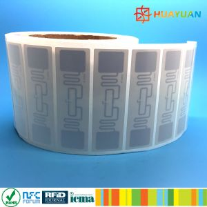 96bit Serialized TID security IMPINJ Monza R6 860-960MHz UHF RFID tag pictures & photos